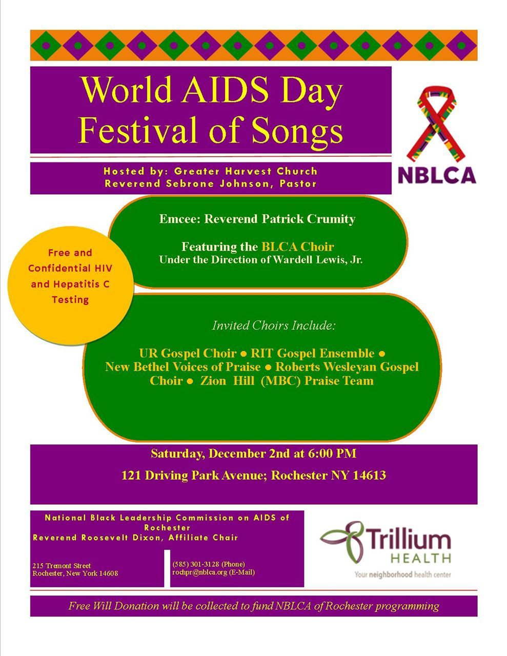 Monroe County Medical Society - World AIDS Day Festival of